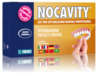 Nocavity - Kit for temporary dental fillings